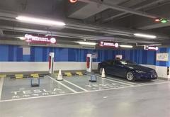 特斯拉中国在超级充电站部署地锁