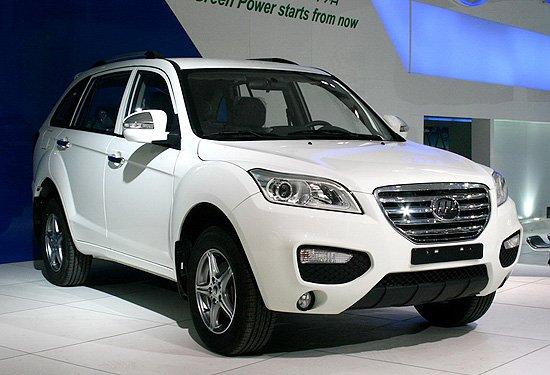力帆SUV定名X60 上海车展上市预计8万元起