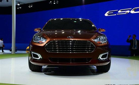 福特Escort概念车发布 为中国市场而设计