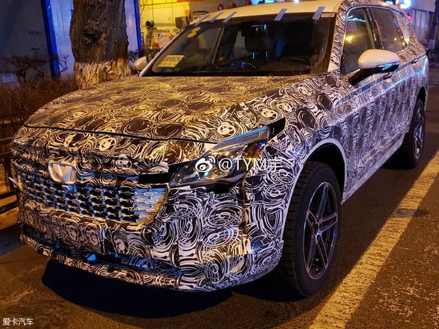 华晨中华V9谍照 中大型SUV/或年内发布
