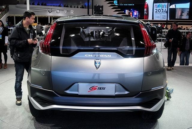 长安cs95概念车   先期推2.0t   版本   动力方面,长安cs95高清图片