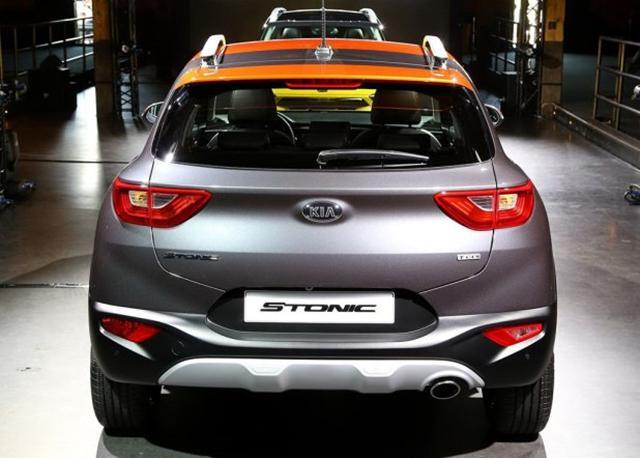 起亚Stonic正式首发 时尚运动化小型SUV
