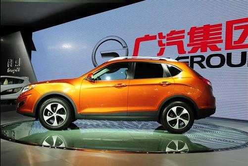 广汽传祺GS5定3月1日下线 四月份上市