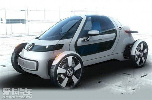 大众NILS电动概念车 法兰克福车展发布