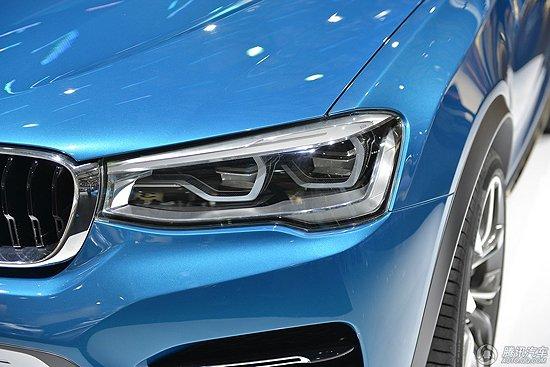 [新车解析]宝马X4概念车全球首发 明年量产
