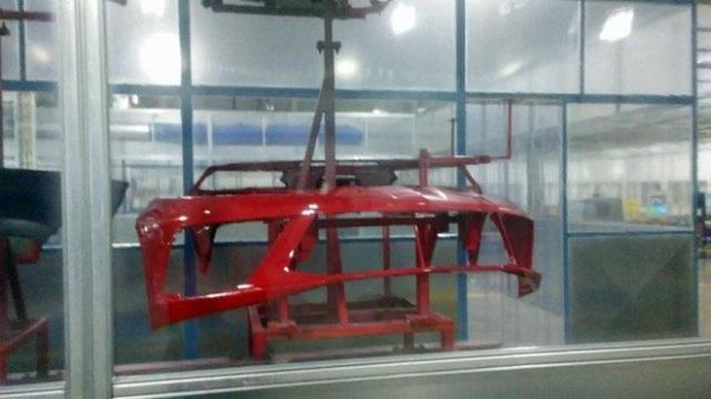 有望明年亮相 全新一代科尔维特车身结构