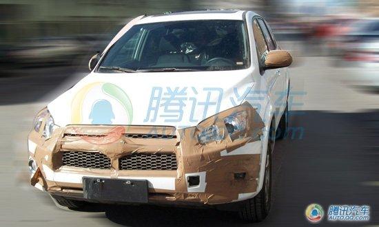非大改款 独家曝光一汽丰田RAV4改款谍照