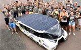 4座太阳能车!
