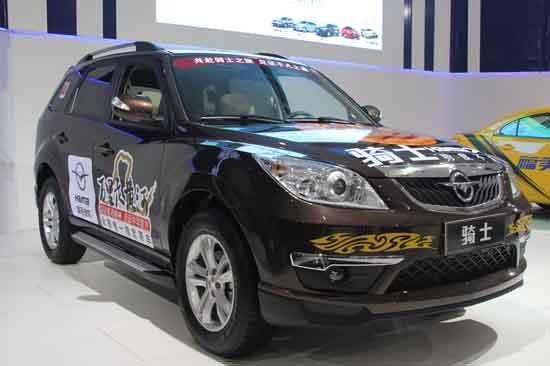 海马骑士2012款亮相成都车展 新增5AT车型
