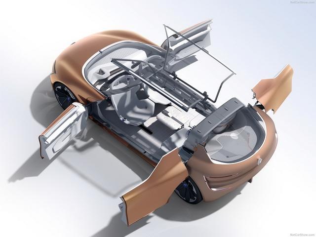 雷诺全新Symbioz树模车公布 展示未来手艺