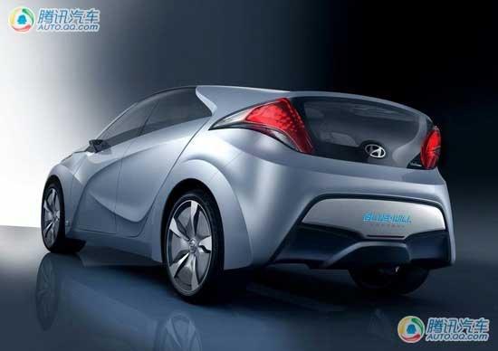 现代Bule Will概念车将量产 搭载混动系统