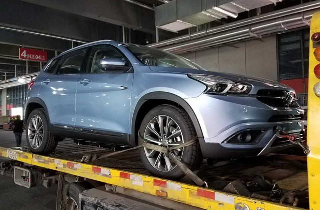 2017上海车展探营:瑞虎7 SPORT车型现身