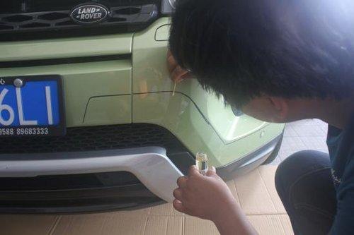 少年派 路虎极光加装宽体空气动力套件