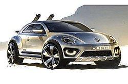 [海外车讯]大众甲壳虫概念车将于北美首发