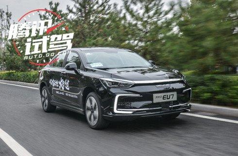 续航实用颜值高 试驾北京汽车纯电动EU7