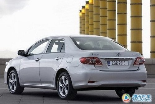 预计9月上市 —汽丰田新款卡罗拉箭瞻
