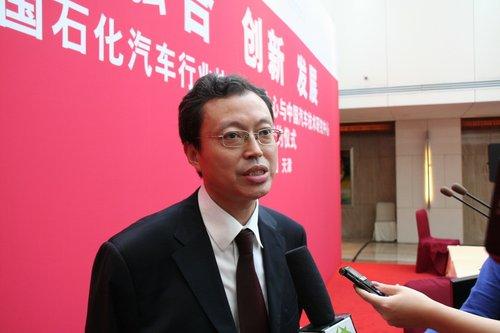 赵江:中石化加油站将提供电动车充电服务