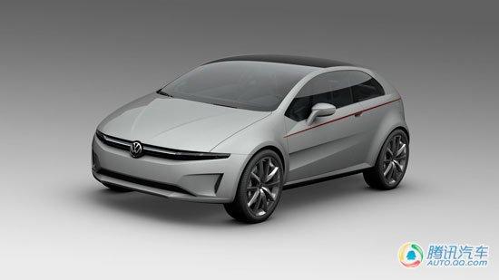 下代尚酷/Polo雏形 大众新概念车提前曝光