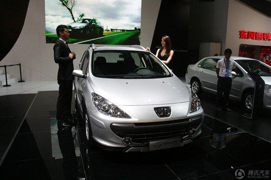 东风标致CROSS 307车展上市 售10.88万元