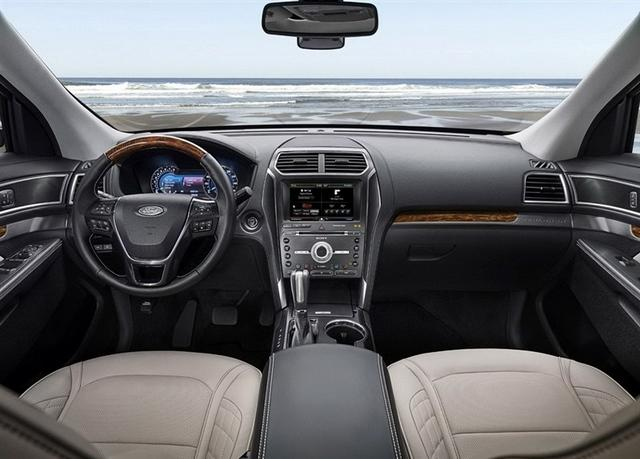 福特新款探险者配置曝光 推2种动力5款车型