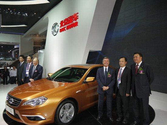 北汽C70首款中级车正式亮相北京车展