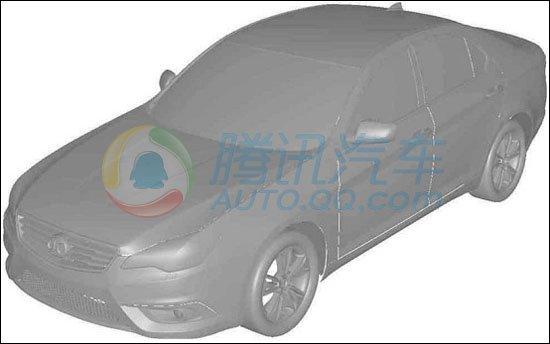 北汽C70G中级车申报图曝光 轴距或超2.8米