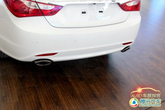 [车展探营]国产版车型 新索纳塔提前曝光