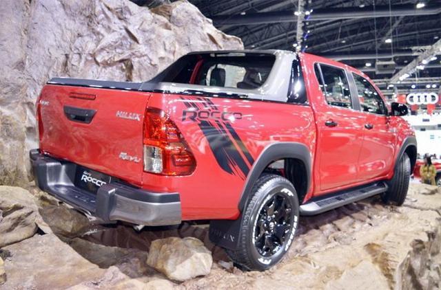新款丰田Hilux正式公布 更具野性气质