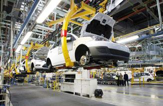 汽车产业链深受影响