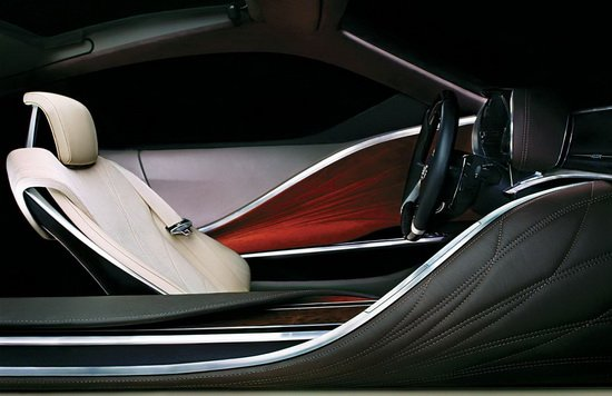雷克萨斯概念车内饰图预告 底特律发布