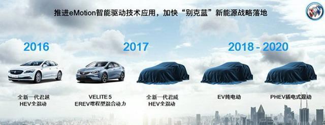 别克发布VELITE 6车型预告图 两种动力可选