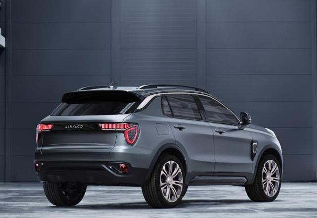 LYNK&CO首款SUV最新谍照曝光 辨识度极高