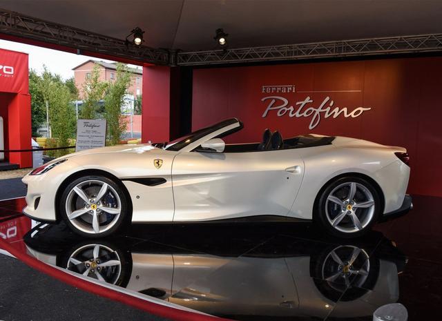 法拉利Portofino 将于11月17日晚上市
