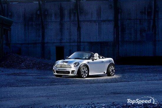 MINI Roadster即将量产 明天3月全球首发
