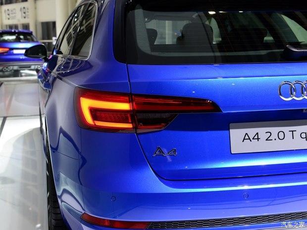 更优雅 奥迪新A4旅行版国内首发奥迪a4参数配置,奥迪a4中控台按高清图片