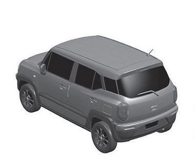 铃木XBEE专利图曝光 定位小型SUV/配备混动系统