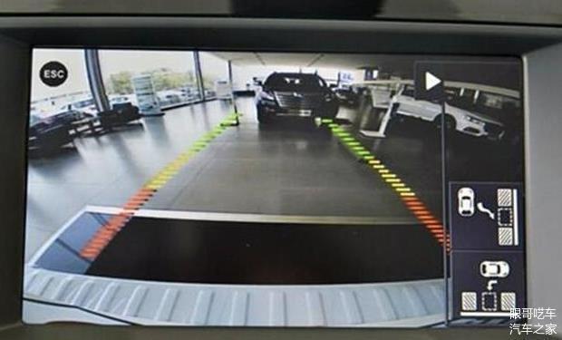 倒车影像的黄绿红线分别代表什么 看完就明白了