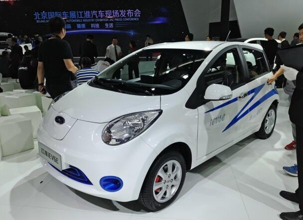 江淮iEV6E电动车发布高清图片