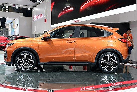 东风本田XR-V量产版或命名炫威 10月发布