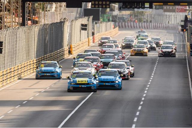 领克车队 WTCR澳门站三冠加冕 领克03+珠海赛道 热