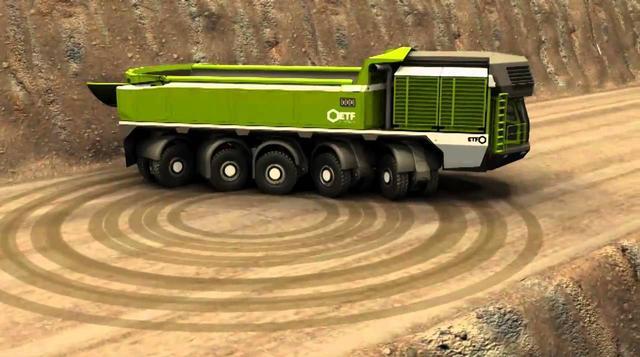 工业设计卡车手绘线稿