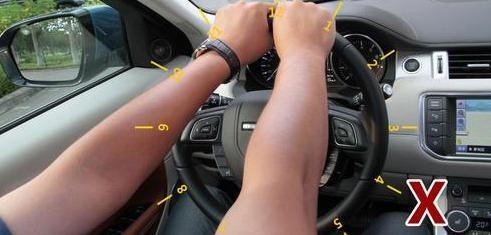 方向盘怎么打才安全?许多老司机握法都不对