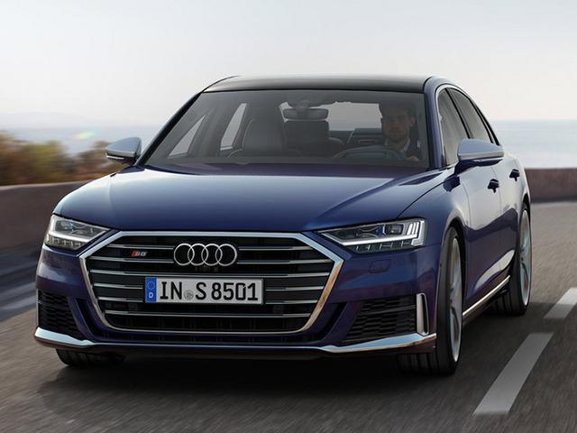 奥迪新款S8售价曝光搭4.0T引擎/造型更运动