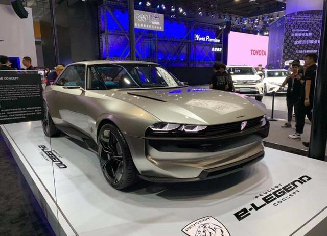 古典与现代 标致e-Legend概念车亮相