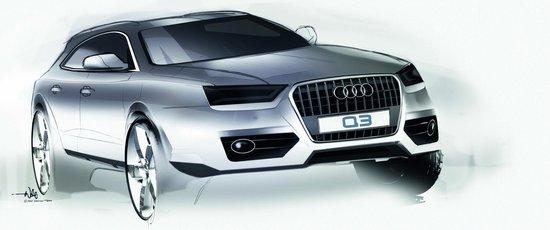 奥迪Q3将全球首发 强势阵容亮相上海车展
