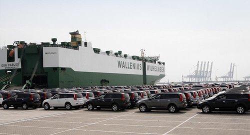 593辆哈弗SUV风骏皮卡装船出口澳大利亚