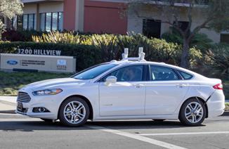 福特将于明年开始无人驾驶测试 车辆基于蒙迪欧
