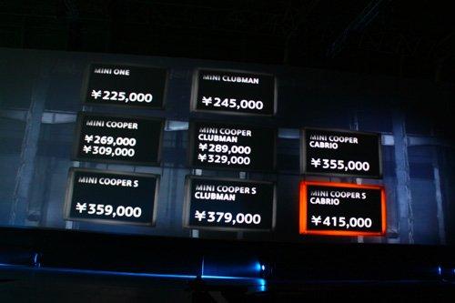 MINI家族全新革新 售价22.5万-41.5万