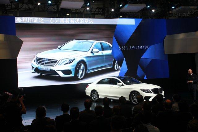 售249.8万 奔驰新款S63 AMG车型正式上市