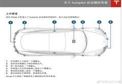 特斯拉Model 3中国版用户手册曝光